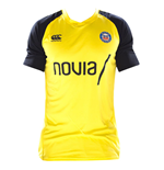 2018-2019 Bath Rugby Vapordri Poly Superlight Tee (Yellow)
