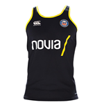 2018-2019 Bath Rugby Vapordri Poly Singlet (Anthracite)