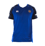 2018-2019 Bath Rugby Vapordri Performance Cotton Tee (Blue)
