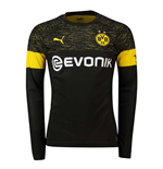 2018-2019 Borussia Dortmund Away Long Sleeve Puma Shirt