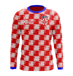 2018-2019 Croatia Long Sleeve Home Concept Football Shirt (Kids)