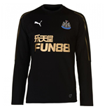 2018-2019 Newcastle Puma Sweat Top (Black)