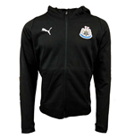 2018-2019 Newcastle Puma Casual Zip Hoodie (Black)