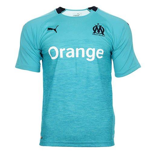 timeless design ff49a 5c3ba 2018-2019 Olympique Marseille Puma Third Football Shirt
