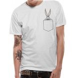Looney Tunes - Bugs Pocket - Unisex T-shirt White