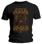 Five Finger Death Punch Men's Tee: Wanted