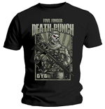 Five Finger Death Punch Men's Tee: War Soldier