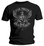 Five Finger Death Punch Men's Tee: Howe Eagle Crest