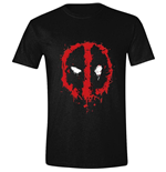 Deadpool T-Shirt Splatter Logo