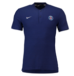 2018-2019 PSG Nike Authentic Grand Slam Polo Shirt (Navy)