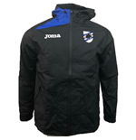 2018-2019 Sampdoria Joma Rain Jacket (Black)