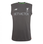 2018-2019 Liverpool Elite Training Vest (Grey)