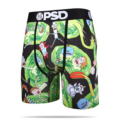 Rick And Morty Portals Men's Boxers