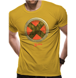 X-MEN - Men - Buckle Logo - Unisex T-shirt Yellow