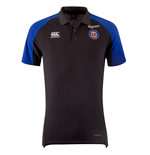 2018-2019 Bath Rugby Vapordri Performance Cotton Polo Shirt (Anthracite)