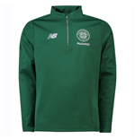 2018-2019 Celtic Elite Training Half Zip Softshell (Green)