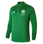 2018-2019 Celtic Training Hybrid Sweat Top (Green)