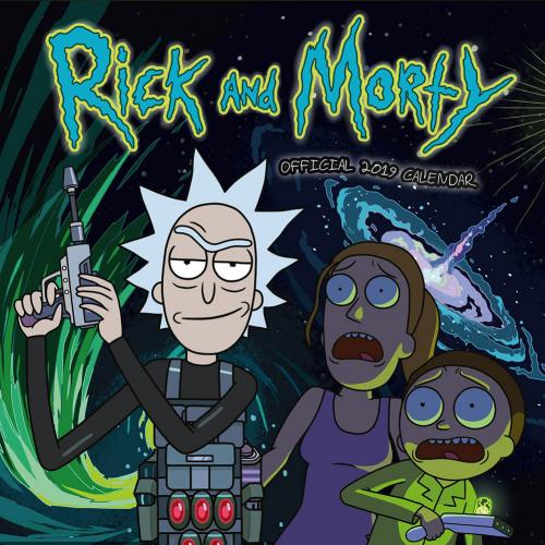 Rick and Morty Calendar 2019