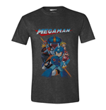 Mega Man T-Shirt Characters Battle