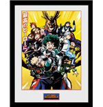 My Hero Academia - Season 1 Framed Print (30x40cm)