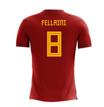 2018-2019 Belgium Airo Concept Home Shirt (Fellaini 8)