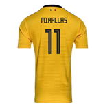 2018-2019 Belgium Away Adidas Football Shirt (Mirallas 11)