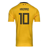 2018-2019 Belgium Away Adidas Football Shirt (Hazard 10)