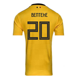 2018-2019 Belgium Away Adidas Football Shirt (Benteke 20)