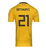 2018-2019 Belgium Away Adidas Football Shirt (Batshuayi 21) - Kids