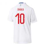 2018-2019 Switzerland Away Puma Football Shirt (Xhaka 10)