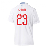 2018-2019 Switzerland Away Puma Football Shirt (Shaqiri 23)