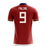2018-2019 Colombia Away Concept Football Shirt (Falcao 9) - Kids