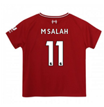 2018-2019 Liverpool Home Little Boys Mini Kit (M Salah 11)