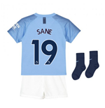 2018-2019 Man City Home Nike Baby Kit (Sane 19)