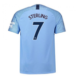 2018-2019 Man City Home Nike Football Shirt (Sterling 7)