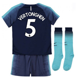 2018-2019 Tottenham Away Nike Little Boys Mini Kit (Vertonghen 5)