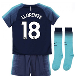 2018-2019 Tottenham Away Nike Little Boys Mini Kit (Llorente 18)