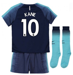 2018-2019 Tottenham Away Nike Little Boys Mini Kit (Kane 10)