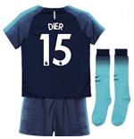 2018-2019 Tottenham Away Nike Little Boys Mini Kit (Dier 15)