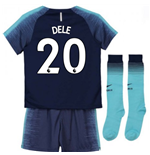 2018-2019 Tottenham Away Nike Little Boys Mini Kit (Dele 20)