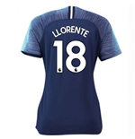 2018-2019 Tottenham Away Nike Ladies Shirt (Llorente 18)