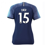 2018-2019 Tottenham Away Nike Ladies Shirt (Dier 15)