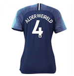 2018-2019 Tottenham Away Nike Ladies Shirt (Alderweireld 4)