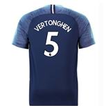 2018-2019 Tottenham Away Nike Football Shirt (Vertonghen 5) - Kids