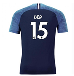 2018-2019 Tottenham Vapor Match Away Nike Shirt (Dier 15)