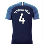 2018-2019 Tottenham Vapor Match Away Nike Shirt (Alderweireld 4)
