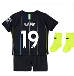2018-2019 Man City Away Nike Baby Kit (Sane 19)