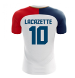 2018-19 France Away Concept Shirt (Lacazette 10)