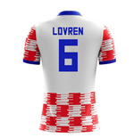 2018-19 Croatia Home Concept Shirt (Lovren 6)