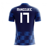 2018-19 Croatia Away Concept Shirt (Mandzukic 17)
